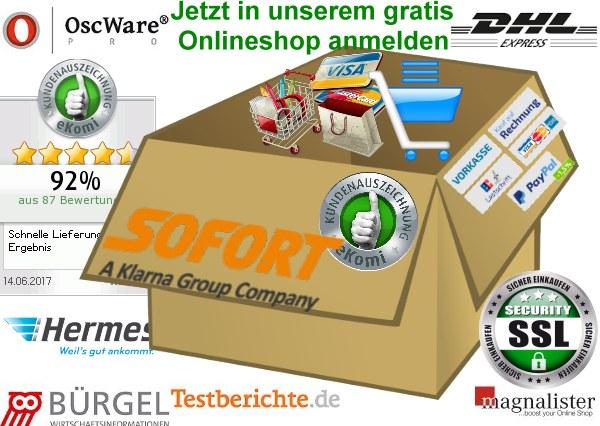 onlineshop-erstellen kostenlose Shopsoftware