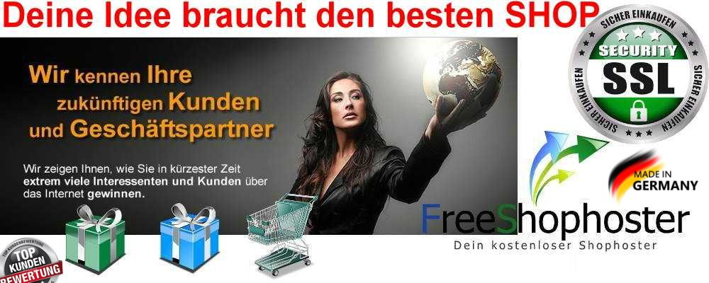kostenlose Onlineshop Software logo