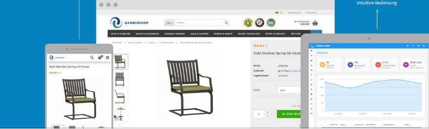Shop2 kostenloses Shophosting beantragen