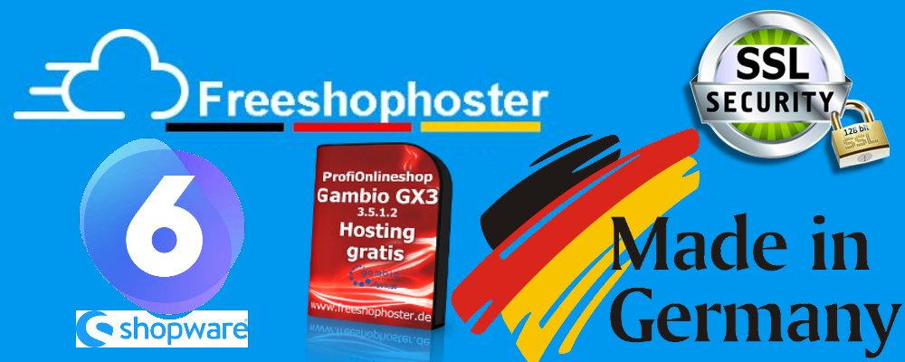 kostenlose Onlineshop Software